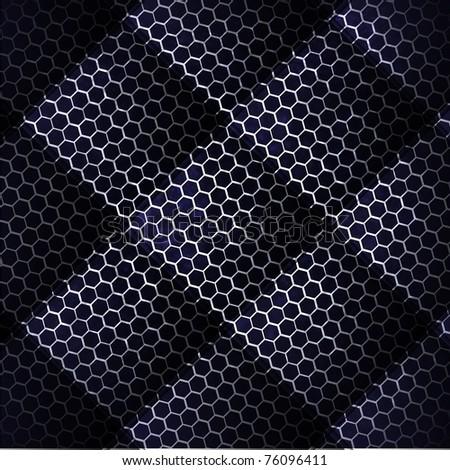 metal mesh background - stock vector
