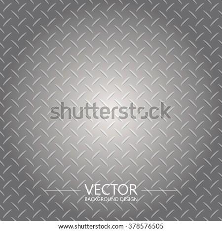 Metal plate texture, Iron sheet, Vector background. - stock vector