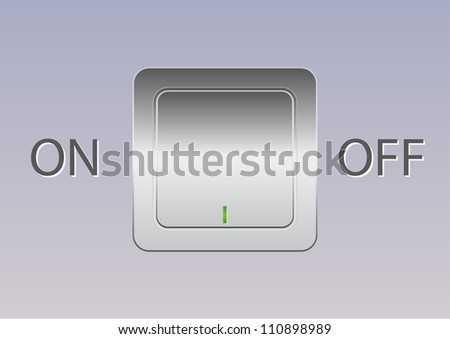 metal power switch