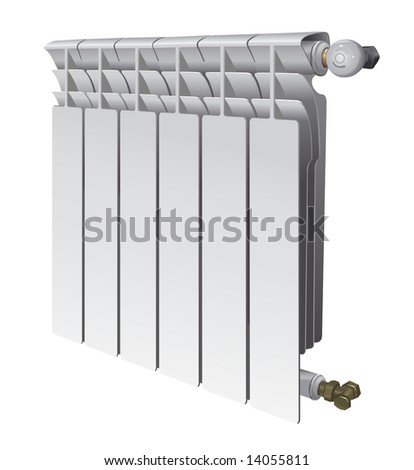 how to clean a house radiator