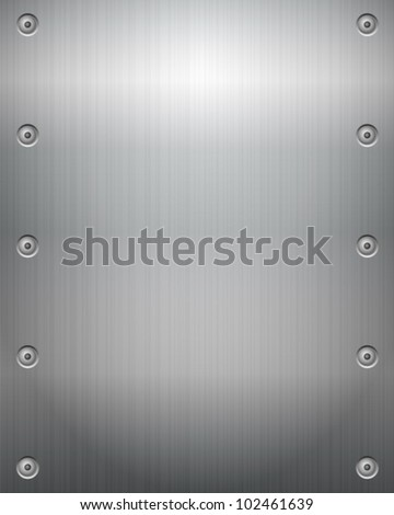 Metal texture background. Vector illustration.
