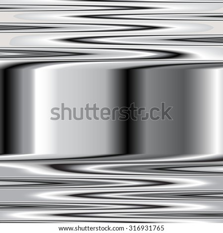 Metal texture background. Vector image steel 6 - stock vector
