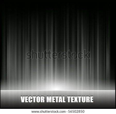 Metal texture vector - stock vector
