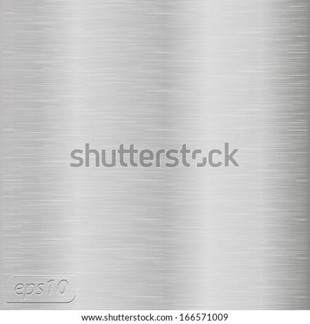 Metal vector texture - stock vector