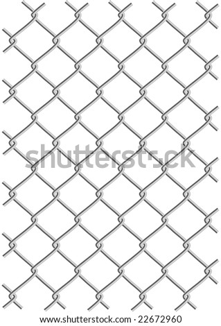 metal wire net background vector illustration (clipping path is included)