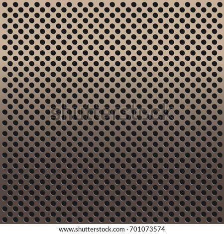 Metal holes copper background copper holes stock vector 701073574 metal with holes copper background copper with holes metal backgrounds vector illustation voltagebd Choice Image