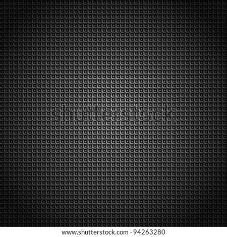 Metallic background with texture, eps 10 - stock vector