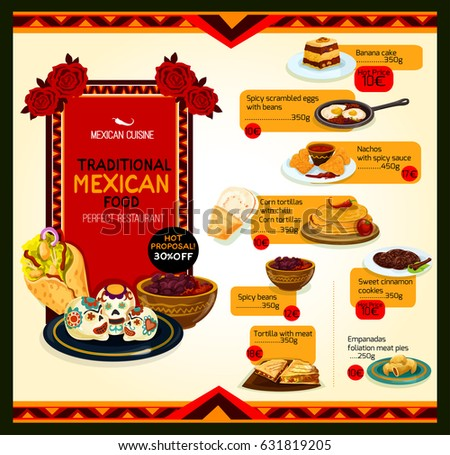 mexican cuisine icon set traditional spicy stock vector 655161970