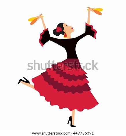 Mexican fiesta party invitation beautiful mexican stock vector mexican fiesta party invitation with beautiful mexican woman dancing with maracasctor illustration poster stopboris Images