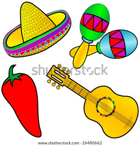Mexican graphics. - stock vector