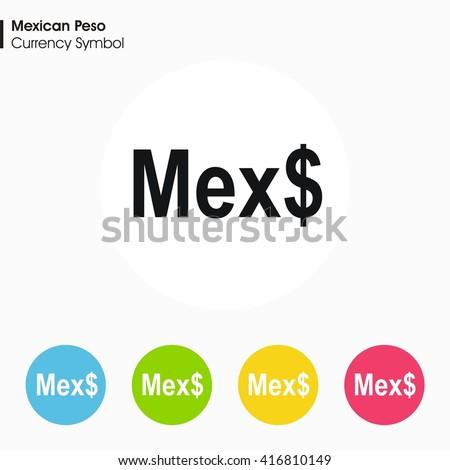 Mexico Peso Symbol