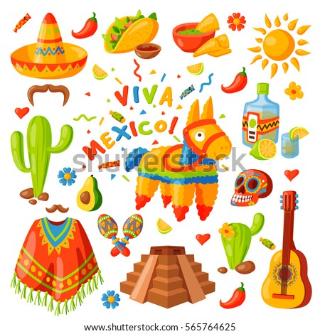 Mexico poncho stock images royalty free images vectors for Mexican logos pictures