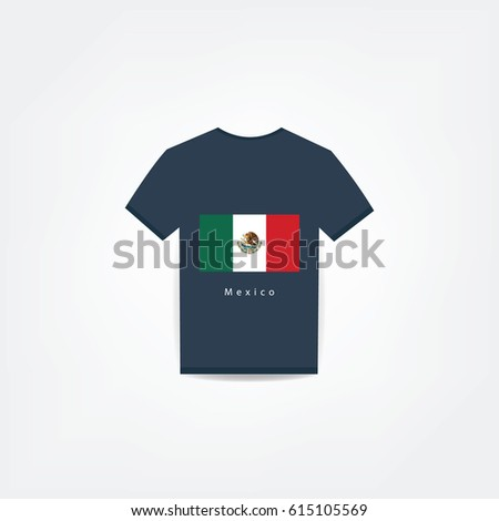 Mexico On t-shirt design Using For Business or Personal