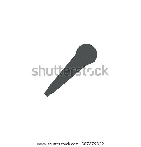 microphone icon. sign design