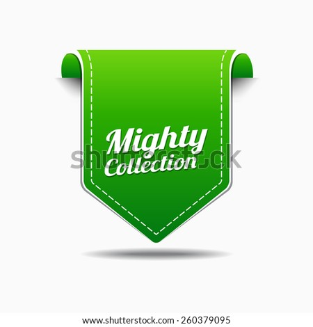 Mighty Collection Green Vector Icon Design