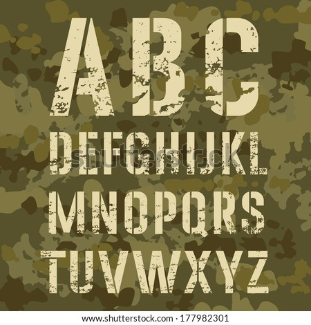 Army Background Vector Background Vector
