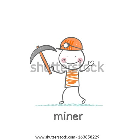 Search Vectors likewise American in addition Outlined Trackhoe Excavator 1199894 likewise Gold Rush additionally Black And White Man Digging 1146304. on panning for gold cartoon
