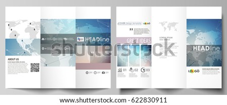 Tri Fold Brochure Images RoyaltyFree Images Vectors – Folded Brochure