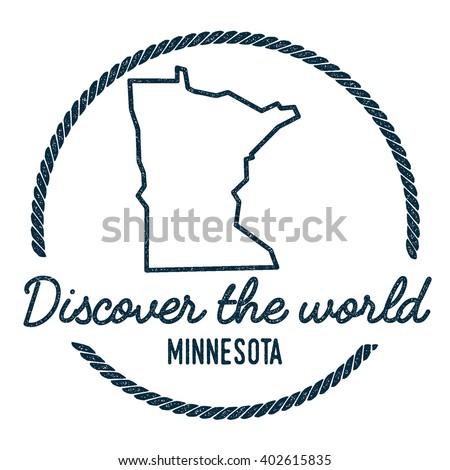Minnesota Outline Stock Images RoyaltyFree Images Vectors - Usa map outline clipart