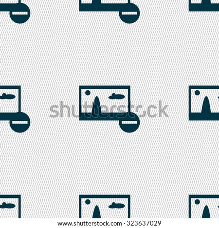Minus File JPG sign icon. Download image file symbol. Set colourful buttons. Seamless abstract background with geometric shapes. Vector illustration - stock vector