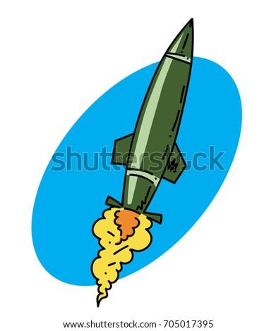 Missile Drawing Missile Cartoon...