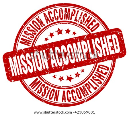 mission accomplished red grunge round vintage rubber stamp.mission accomplished stamp.mission accomplished round stamp.mission accomplished grunge stamp.mission accomplished.mission. accomplished. - stock vector