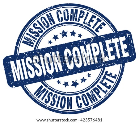 Image result for Mission Completed