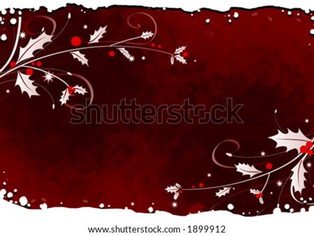 Mistletoe background design