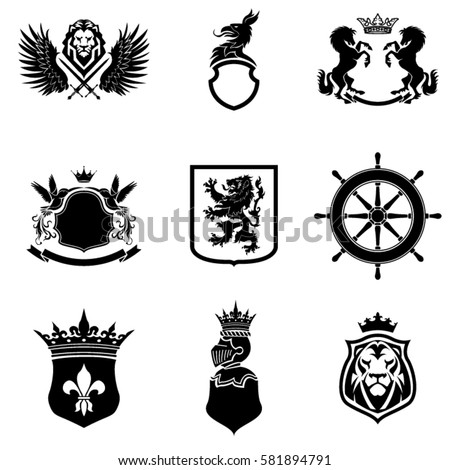 Search likewise 339881103100871825 also Shield With Wings As A Heraldic Symbol For Design Vector 2092659 moreover 456618287 additionally Griffin. on coat of arms shield shapes with wings