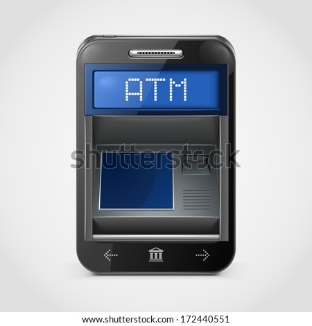 mobile banking vector icon xxl