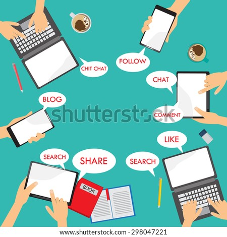mobile connection infographics element and background. social media network concept. Can be used for business data, web design, brochure template, advertising. text can be added. vector illustration - stock vector