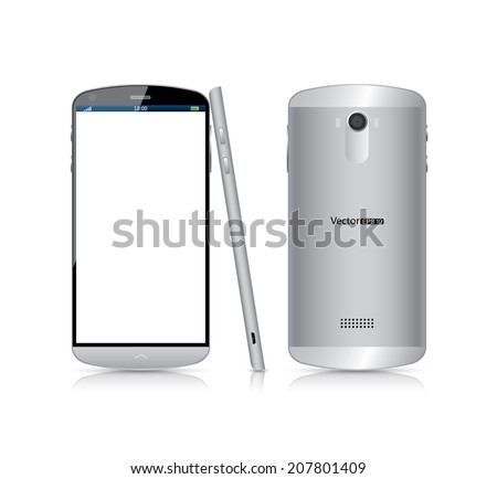 Mobile phone - stock vector