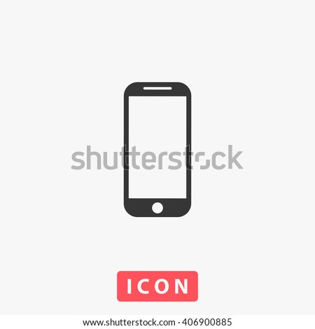 Mobile phone Icon.  - stock vector