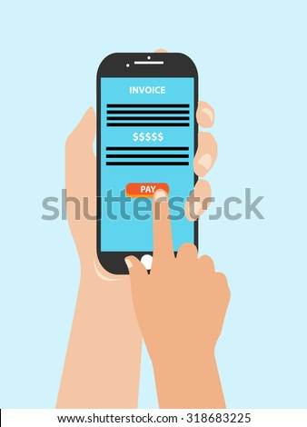 mobile phone with online payment