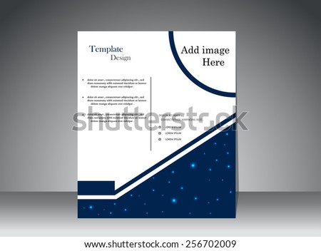 Modern Abstract Brochure - stock vector
