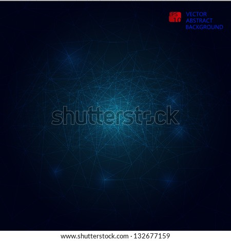 modern abstract web background - stock vector