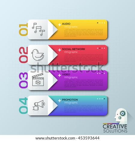 Modern arrow business infographic banner vector stock vector modern arrow business infographic banner vector stock vector 453593644 shutterstock ccuart Choice Image