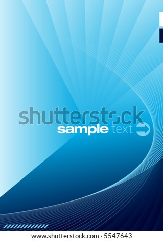 Modern Background Layout - stock vector