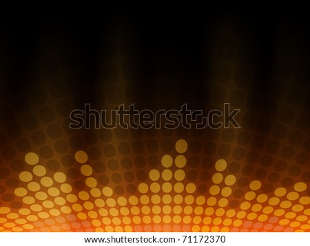 Modern background with music bar - space for text - stock vector
