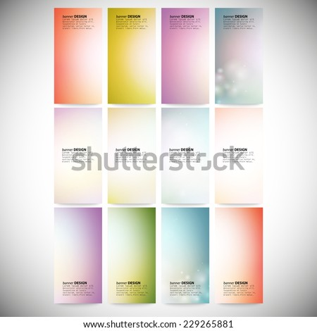 Modern banners, abstract banner design, business design and website templates vector. - stock vector