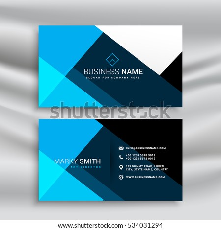 Modern blue business card template minimal stock vector 534031294 modern blue business card template minimal stock vector 534031294 shutterstock accmission Gallery