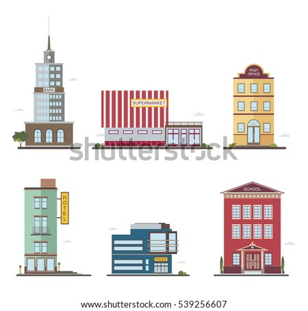 Modern buildings different architectural styles for Different building styles