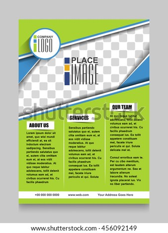 Modern business brochure flyer design, layout template, Brochure design layout, Brochure design cover in  A4 size