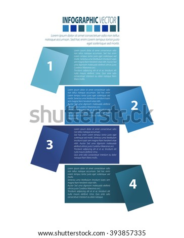 Modern business infographics elements. Vector illustration.