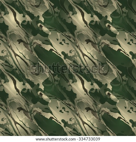 Modern camouflage pattern. Seamless background tile for military clothing prints, vehicles and game design. - stock vector
