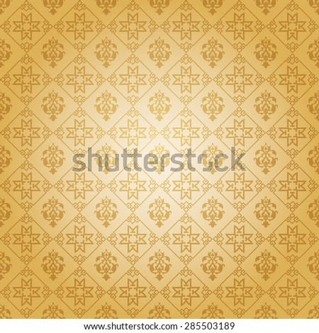 Modern chinese stylish texture geometric tiles wallpaper pattern background in retro style for your design vector illustration