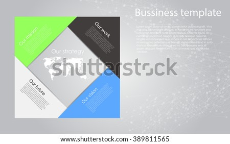 Modern clean business cube origami style timeline banner. Vector. can be used for workflow layout, diagram, number options, step up options, web design, infographics, timeline, web sites.  - stock vector