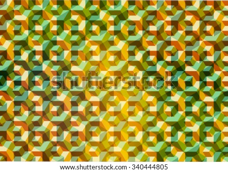 Modern colorful pattern background with designed abstraction. Vector illustration colored geometric texture seamless pattern easy editable for Your design. - stock vector