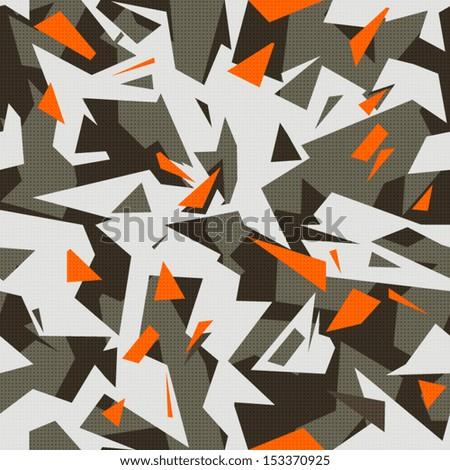 grey modern geometric wallpaper