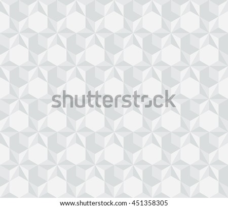 modern 3d surface seamless pattern. vector illustrration - stock vector